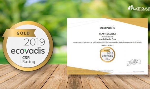 Producción de Plástico ecológico | Premio EcoVadis | Plasitgaur